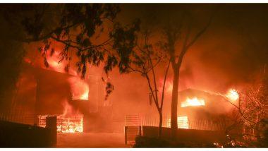 चीन: सिचुआन प्रांत के जंगलों में लगी भीषण आग, बुझाने के दौरान 30 लोगों की मौत