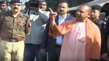 मुख्यमंत्री योगी आदित्यनाथ के अस्पताल दौरे से पहले पत्रकारों को रूम में लॉक करने का आरोप