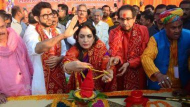 उद्धव ठाकरे ने परिवार संग अयोध्या में की पूजा, कहा-BJP तारीख बताए, कब बनाएगी राम मंदिर