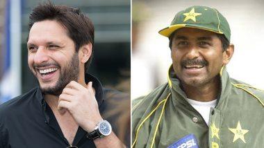 कश्मीर मामला: शाहिद अफरीदी ने पाक को दिखाया आईना तो भड़के मियांदाद, क्रिकेटरों को दी ये सलाह