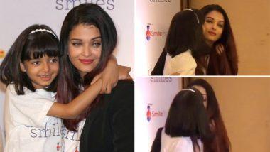 Video: पब्लिक इवेंट पर ऐश्वर्या को यूं प्यार से Kiss करती दिखीं बेटी आराध्या, वीडियो Viral