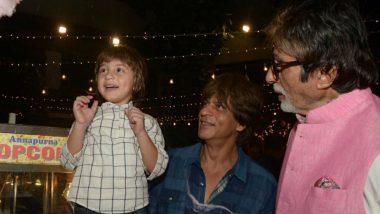 नन्हें अबराम खान समझते हैं कि मैं शाहरुख का पिता और उनका दादा हूं- अमिताभ बच्चन