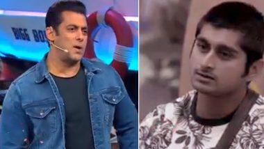 Bigg Boss 12: दीपक ठाकुर पर भड़के सलमान खान, कहा- मुंह खोला तो चमाट पड़ेगा, देखें Video