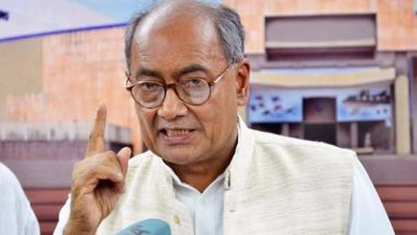 कांग्रेस नेता दिग्विजय सिंह का विवादित बयान, कहा- भगवा कपड़े पहनने वाले लोग चूरन बेच रहे और मंदिरों में रेप कर रहे