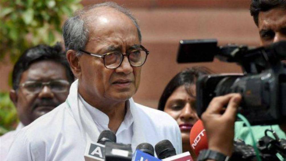 IAF एयर स्ट्राइक पर कांग्रेस नेता दिग्विजय सिंह ने कहा- मोदी सरकार जारी करे सबूत