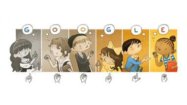 Charles-Michel De l'Epee Google Doodle: 'फादर ऑफ द डेफ' की जयंती पर गूगल ने बनया खास डूडल