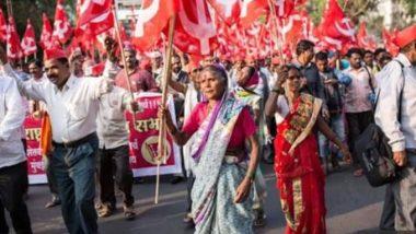 मुंबई: महाराष्ट्र सरकार की फिर से बढ़ सकती है मुश्किलें, अपनी मांगों को लेकर सड़क पर उतरे हजारों किसान