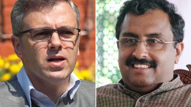 जम्मू-कश्मीर: राम माधव पर भड़के उमर अब्दुल्ला, 'पाक कनेक्शन' वाले बयान पर मांगा सबूत