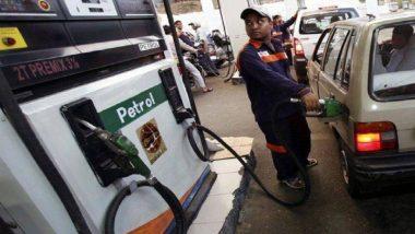 पेट्रोल के दाम में पांच पैसे प्रति लीटर गिरावट, डीजल का भाव स्थिर