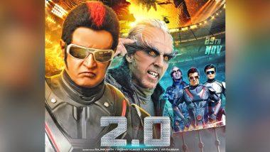 #2.0 : रजनीकांत को पर्दे पर देखते ही बेकाबू हुए फैंस, सिनेमाघरों में बजे ढोल-नगाड़े, देखें Video