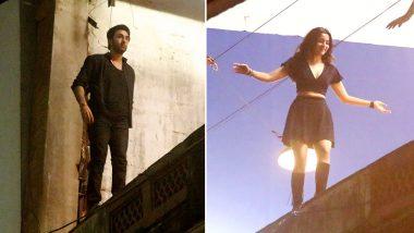 आलिया भट्ट के साथ बिल्डिंग की छत पर चढ़े रणबीर कपूर, फैंस को हैरान कर देगा ये लीक्ड विडियो
