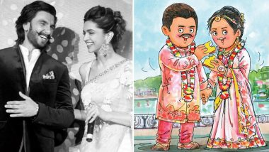 रणवीर-दीपिका को अमूल ने मजेदार अंदाज में दी शादी की बधाई, शेयर की ये कॉमिक फोटो