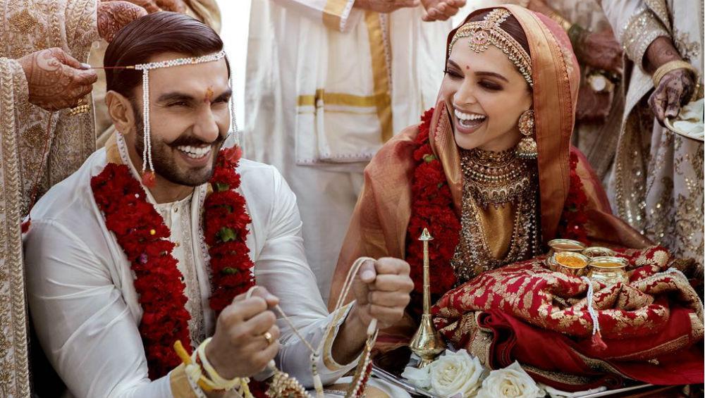 Ranveer Weds Deepika Photos: दीपिका- रणवीर की शानदार वेडिंग की पहली फोटो