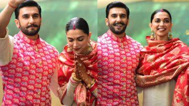 रणवीर सिंह-दीपिका पादुकोण के शादी की पहली सालगिरह, आशीर्वाद लेने तिरुपति बालाजी रवाना हुआ कपल, देखें Video