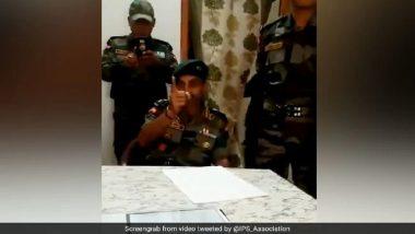 सेना के कर्नल ने थाने में घुस कर पुलिस को धमकाया, वीडियो हुआ वायरल