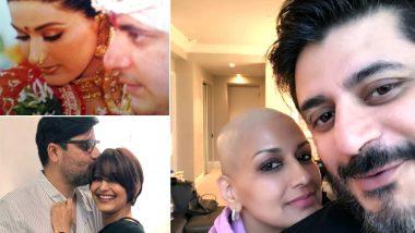 कैंसर से जूझ रही सोनाली बेंद्रे अपनी शादी की सालगिरह पर हुई इमोशनल, पति के लिए लिखा यह स्पेशल मैसेज
