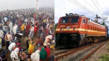 अर्ध कुंभ के लिए चलाई जाएंगी 800 स्पेशल ट्रेनें, मेले से संबंधित तस्वीरों और नारों से सजे होंगे कोच