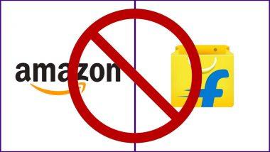 Amazon और Flipkart पर लगी यह पाबंदी, अब नहीं लगेगा ऑनलाइन महासेल?