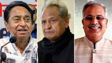 तीन राज्यों में कांग्रेस के सीएम लेंगे शपथ, 25 दलों को न्योता- राहुल गांधी शक्ति प्रदर्शन