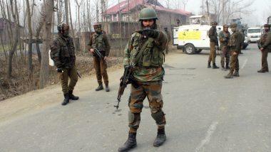जम्मू-कश्मीर: आतंकी हमलें में 4 जवान शहीद, दहशतगर्दों को खाक में मिलाने के लिए सेना ने पूरे इलाके को घेरा