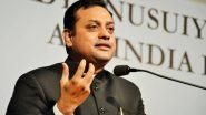 संबित पात्रा का कांग्रेस पर वार, कहा- देश कि सबसे पुरानी पार्टी का नाम ''मुस्लिम लीग कांग्रेस'' होना चाहिए