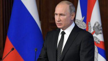 पुलवामा आतंकी हमला: रूस के राष्ट्रपति व्लादिमीर पुतिन ने कहा- इस हमले के लिए जिम्मेदार मुजरिमों को कड़ी सजा मिलनी चाहिए