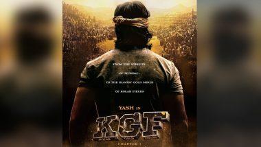 पाकिस्तान में रिलीज होने वाली पहली कन्नड़ फिल्म बनी अभिनेता यश की 'KGF'