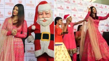 ऐश्वर्या राय ने कैंसर पीड़ित बच्चों संग मनाया क्रिसमस, 'कजरारे' पर लगाए ठुमके, देखें Video
