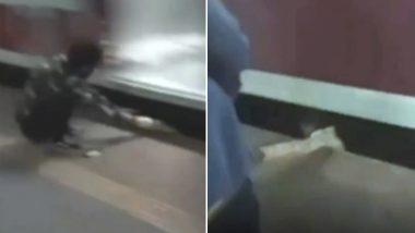 मुंबई: प्लेटफॉर्म से गिरे युवक पर से गुजर गई ट्रेन, खरोंच तक नहीं आई , देखें दिल दहलाने वाला Video