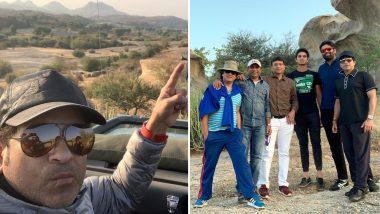 वायरल: देखिये सचिन तेंदुलकर का 'गब्बर सिंह' लुक, पूछा- 'कितने आदमी थे?'