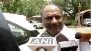 पूर्व वित्त मंत्री अरुण जेटली का निधन बहुत बड़ी क्षति: कांग्रेस नेता ए. के. एंटनी