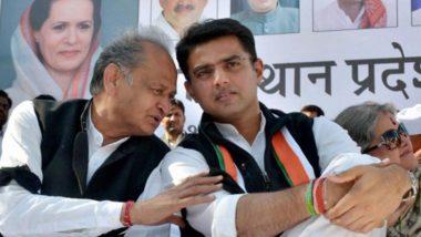 Rajasthan Congress Crisis: जयपुर में कांग्रेसदफ्तर में फिर लगे सचिन पायलट के पोस्टर, आज सुबह ही हटाए गए थे