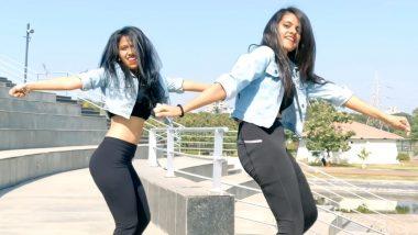 'आंख मारे' पर इन दो लड़कियों ने किया हॉट डांस, 8 लाख बार देखा जा चुका है Video