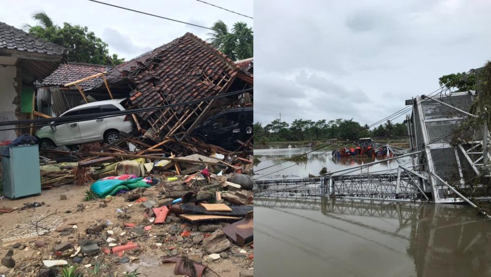 इंडोनेशिया सुनामी: जब बीच पर परफॉर्म कर रहे रॉक बैंड को पल में बहा ले गई तूफानी लहरें, देखें Video