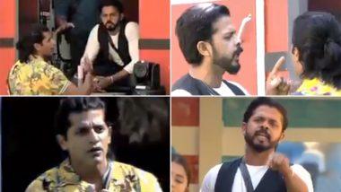 Bigg Boss 12: करणवीर और श्रीसंत के बीच छिड़ी जुबानी जंग, देखें Video