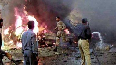 पाकिस्तान के क्वेटा में विस्फोट, 4 पुलिस वालों की मौत, 11 अन्य  घायल