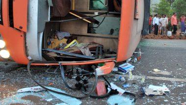 बिहार में पर्यटकों से भरी बस दुर्घटनाग्रस्त, 2 की मौत, 34 जख्मी