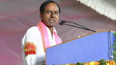 तेलंगाना राष्ट्र समिति के मुखिया के.चंद्रशेखर राव आज मुख्यमंत्री पद की लेंगे शपथ
