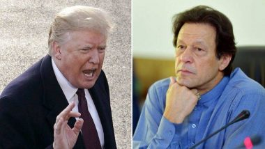 ट्रंप ने पाक पीएम इमरान खान को लिखा पत्र,  तालिबान को वार्ता की मेज तक लाने में मांगी मदद