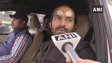 लालू यादव के बेटे तेजप्रताप की गाड़ी के नीचे आया कैमरामैन का पैर, सुरक्षाकर्मियों ने मीडियावालों को पीटा, देखें वीडियो