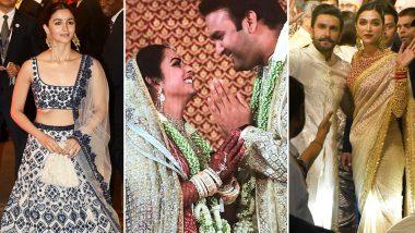 आलिया भट्ट से लेकर दीपिका पादुकोण तक, ईशा अंबानी की शादी में इन खूबसूरत अभिनेत्रियों ने की शिरकत, देखें तस्वीरें