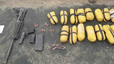 Jammu-Kashmir: पाकिस्तान की नापाक हरकत,  जम्मू-कश्मीर के अखनूर सेक्टर में ड्रोन से भेजा हथियार और गोला-बारूद, पुलिस ने किया गया  बरामद