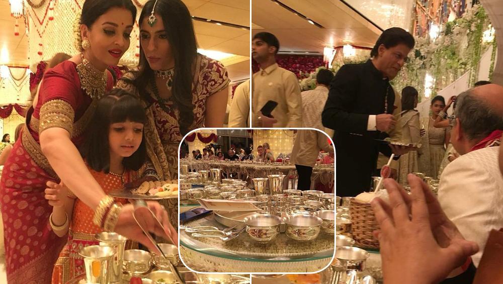 ऐश्वर्या राय बच्चन-शाहरुख खान ने भी ईशा अंबानी-आनंद पिरामल की शादी में परोसा खाना, देखें फोटोज