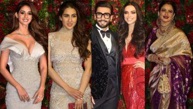 Ranveer- Deepika Reception Red Carpet Pics: दीपवीर की पार्टी में पहुंचे कपिल देव, सचिन तेंदुलकर, फिल्म इंडस्ट्री का भी लगा मेला