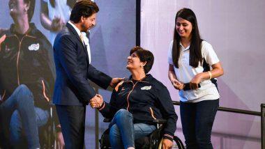 शाहरुख खान ने विकलांग व्यक्तियों के अंतर्राष्ट्रीय दिवस पर पैरा एथलीटों को दान की व्हीलचेयर!