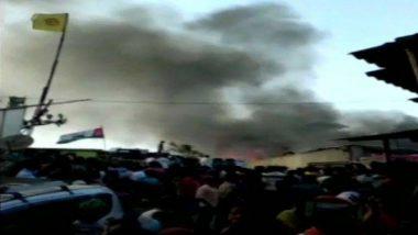 मुंबई के मलाड इलाके में एक स्लम में लगी आग, दमकल की 4 गाड़ियां मौके पर मौजूद
