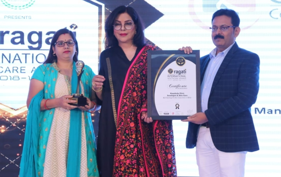 पटना: बिहार के 2 डॉक्टर 'International Healthcare Awards 2018' से हुए सम्मानित