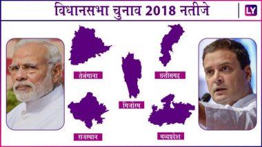 Assembly Elections 2018 LIVE STREAMING: News 18 पर देखें राजस्थान, मध्यप्रदेश, छत्तीसगढ़, मिजोरम और तेलंगाना में कौन है जनता की पहली पसंद