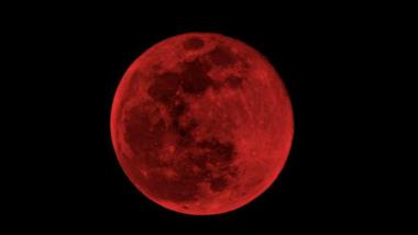Super Moon Lunar Eclipse 2019: साल का पहला पूर्ण चंद्र ग्रहण 21 जनवरी को, जानें इसे क्यों कहा जा रहा है 'सुपर ब्लड वुल्फ मून'?
