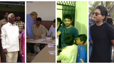 तेलंगाना विधानसभा चुनाव 2018:  ओवैसी-श्रीहरि समेत साउथ के सितारों ने किया मतदान, लोगों से भी की मतदान करने की अपील